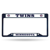 Minnesota Twins INVERTED COLORED Chrome Frame SECONDARY NAVY