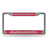 Tampa Bay Buccaneers Bling Chrome Frame
