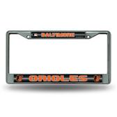 Baltimore Orioles Bling Chrome Frame