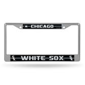 Chicago White Sox Bling Chrome Frame