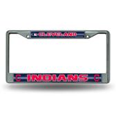 Cleveland Indians Bling Chrome Frame