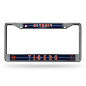 Detroit Tigers Bling Chrome Frame