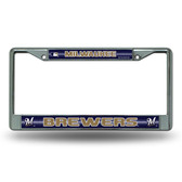 Milwaukee Brewers Bling Chrome Frame