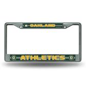 Oakland Athletics Bling Chrome Frame