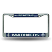 Seattle Mariners Bling Chrome Frame