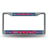 Chicago Cubs Bling Chrome Frame