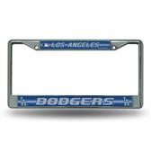 Los Angeles Dodgers Bling Chrome Frame