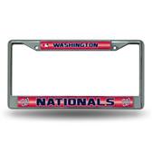 Washington Nationals Bling Chrome Frame