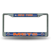 New York Mets Bling Chrome Frame