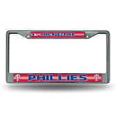 Philadelphia Phillies Bling Chrome Frame