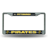 Pittsburgh Pirates Bling Chrome Frame