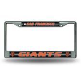 San Francisco Giants - SF Bling Chrome Frame