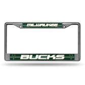 Milwaukee Bucks Bling Chrome Frame