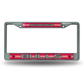 Chicago Bulls Bling Chrome Frame