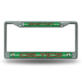 Boston Celtics Bling Chrome Frame