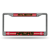 Atlanta Hawks - ATL Bling Chrome Frame