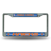 New York Knicks Bling Chrome Frame