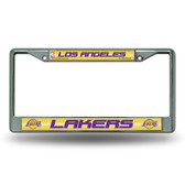 Los Angeles Lakers Bling Chrome Frame