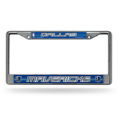 Dallas Mavericks Bling Chrome Frame