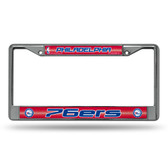 Philadelphia 76ers Bling Chrome Frame