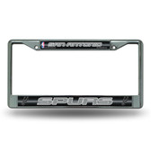 San Antonio Spurs Bling Chrome Frame