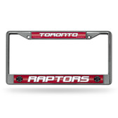 Toronto Raptors Bling Chrome Frame
