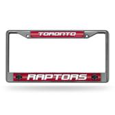 Toronto Raptors Bling Chrome Frame
