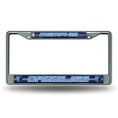 Memphis Grizzlies Bling Chrome Frame