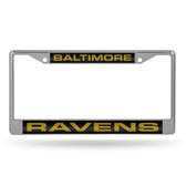 Baltimore Ravens  LASER Chrome Frame