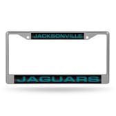 Jacksonville Jaguars  LASER Chrome Frame