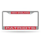 New England Patriots  LASER Chrome Frame