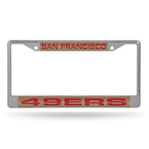 San Francisco 49ers  LASER Chrome Frame