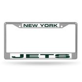 New York Jets  LASER Chrome Frame