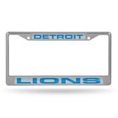 Detroit Lions  LASER Chrome Frame