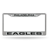 Philadelphia Eagles  LASER Chrome Frame