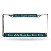 "Philadelphia Eagles ""BLITZ INC."" LASER Chrome Frame"