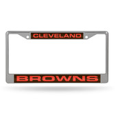 Cleveland Browns  LASER Chrome Frame