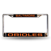 Baltimore Orioles BLK LASER Chrome Frame