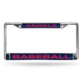 Los Angeles Angels BLUE LASER Chrome Frame