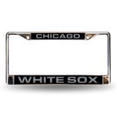 Chicago White Sox BLK LASER Chrome Frame