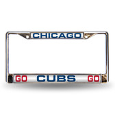 "Chicago Cubs ""GO Chicago Cubs GO"" LASER FRAME"