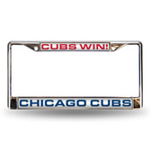 Chicago Cubs WIN LASER FRAME