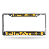 Pittsburgh Pirates YELLOW LASER Chrome Frames