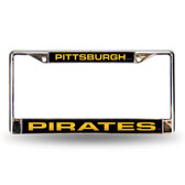 Pittsburgh Pirates BLK LASER Chrome Frames