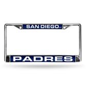 San Diego Padres NAVY/WHITE LASER FRAME