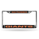San Francisco Giants BLK LASER Chrome Frame