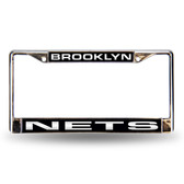 Brooklyn Nets LASER Chrome Frame