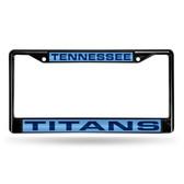 Tennessee Titans BLACK LASER Chrome Frame