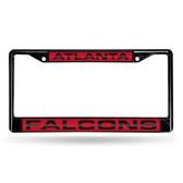 Atlanta Falcons BLACK LASER Chrome Frame