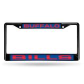 Buffalo Bills BLACK LASER Chrome Frame